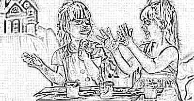 Рисование красками - подружки