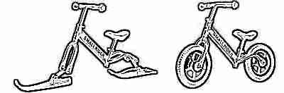 Велобег Rider Foot Racer