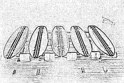 Пенни борды с подсветкой