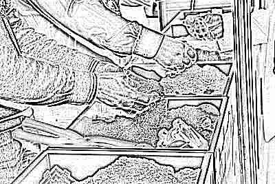 Цветной кинетический песок