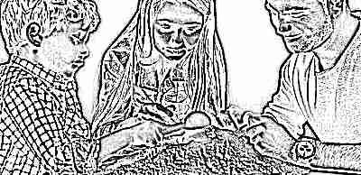 Игры в кинетический песок