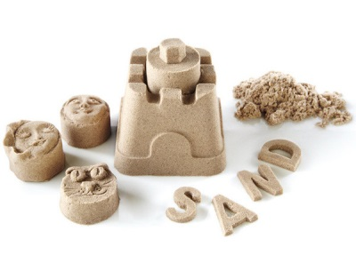 Фигурки из кинетического песка