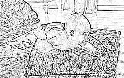 Развитие навыка удерживания головы у ребенка