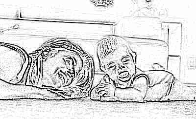 Развитие навыка удерживания головы у младенца