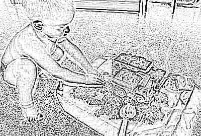 Возрастная категория детей для игр с космическим песком