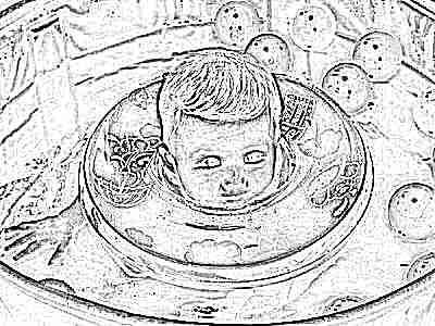 Круг на шею для купания новорожденных - безопасность