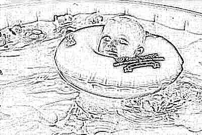 Преимущества круг на шею для купания новорожденных