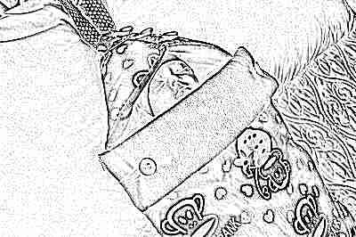 Конверт-кокон для новорожденных