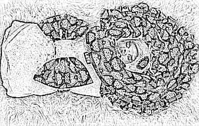 Пеленка-кокон одеяло для новорожденных