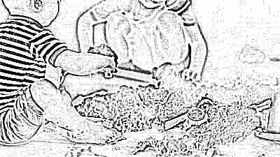 С какого возраста можно играть живым песком