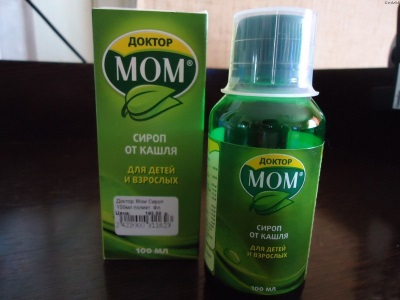 Доктор МОМ при сухом кашель у ребенка от 3 лет