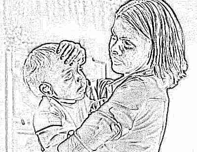 Температура при сухом кашле у ребенка