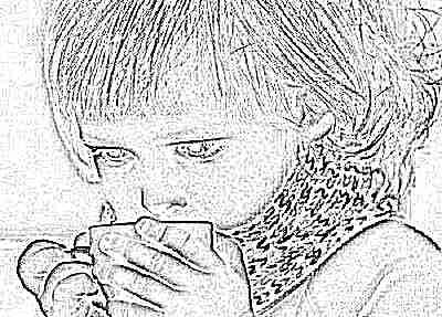 Уход за ребенком при сухом кашле