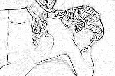 Дренажный массаж для детей при кашле - техника массажа