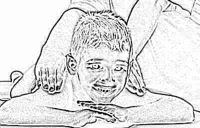 Дренажный массаж для детей при кашле - инструкция