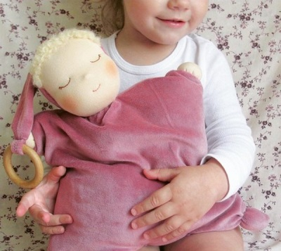 Игрушка-грелка для новорожденного