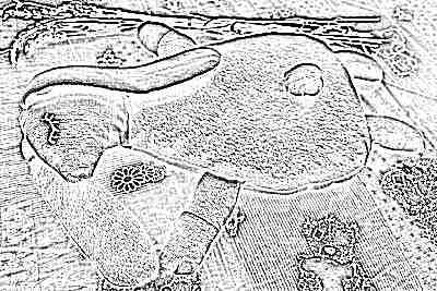 Игрушка-грелка с лавандой для новорожденного