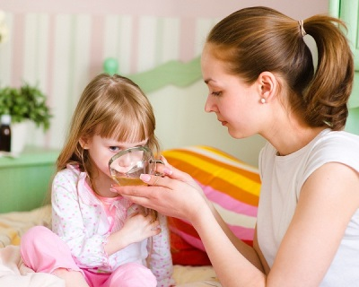 Помощь при лающем кашле у ребенка