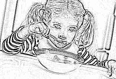 Диета при лающем кашле у ребенка