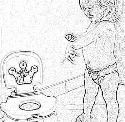 Трудности при приучении ребенка к горшку