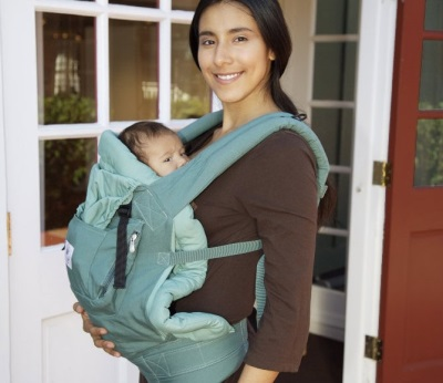 Эрго-рюкзак для переноски новорожденных