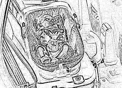 Переноска-люлька для новорожденных