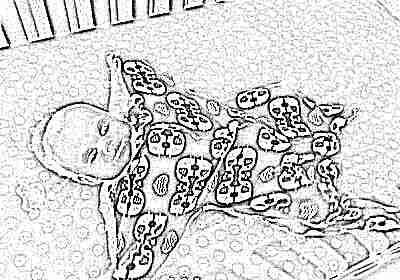 Спальный мешок с рукавами для новорожденных