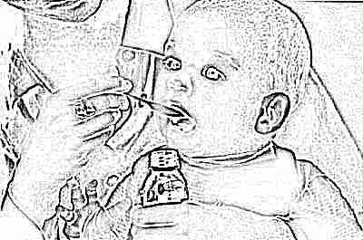 Сухая микстура от кашля для детей