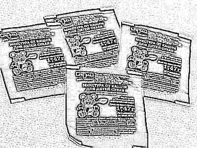 Сухая микстура от кашля в пакетиках для детей