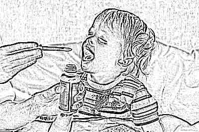 Антибиотики при кашеле с температурой у ребёнка