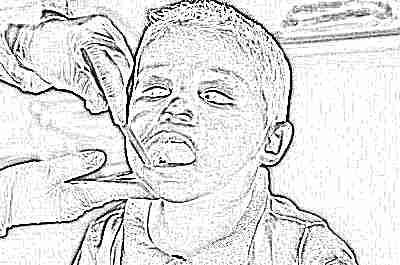 Зубы температура гной ребенок