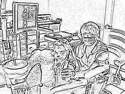 Стоматолог у ребенка лечение 4 года