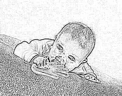 Как выглядит прорезывающийся зуб у ребенка