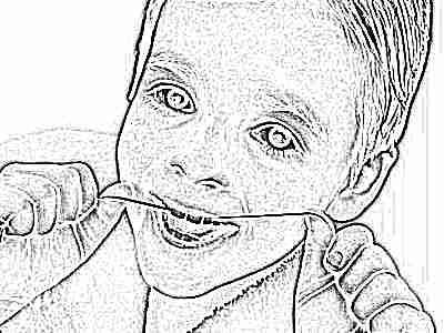 Последовательность выпадения молочных зубов у детей