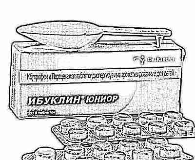 Ибуклин юниор инструкция по применению в таблетках