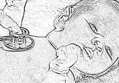 У ребенка колит в грудной клетке