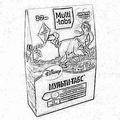 Витамины мульти табс для детей виды инструкция состав