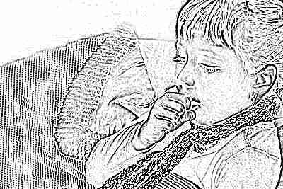 Калина с медом от кашля детям