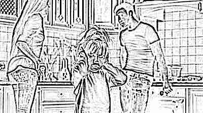 Развод с мужем маленький ребенок