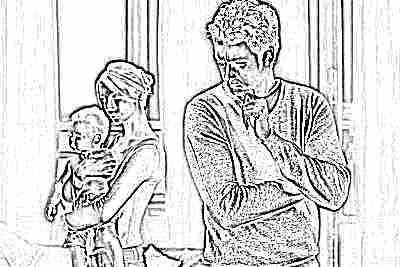 Порядок общения ребенка с отцом после развода: график, заявление