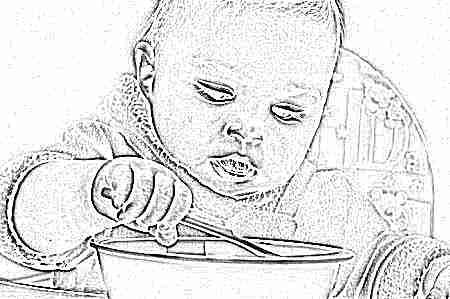 Кормление ребенка в 1 год