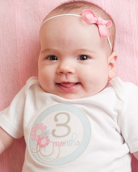 Ребенок в 3 месяца развитие и питание