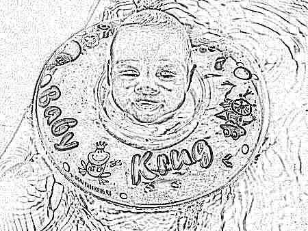 Круг на шею для купания новорожденных: как выбрать, Baby Swimmer и мнение Комаровского, фото и видео, отзывы