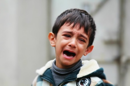 У ребенка истерика что делать