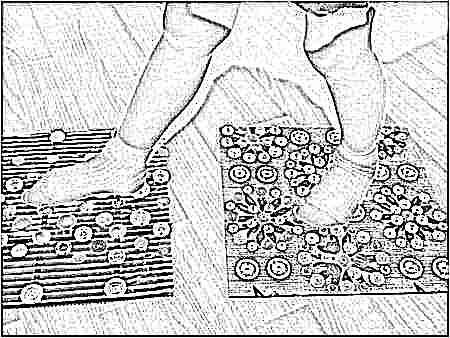 Коврик в садик для детей для ног занятия лфк как сделать своими руками