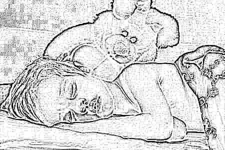 Грудной ребенок не спит ночью что делать