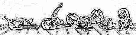 Как научить грудничка переворачиваться