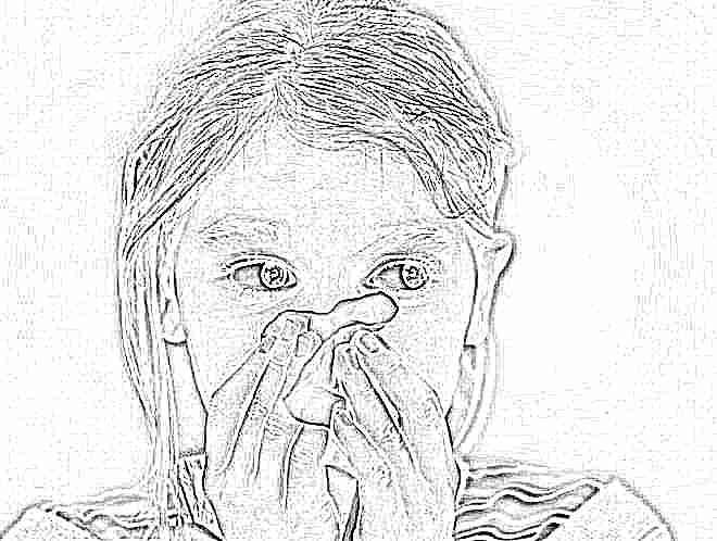 Простуда девочка