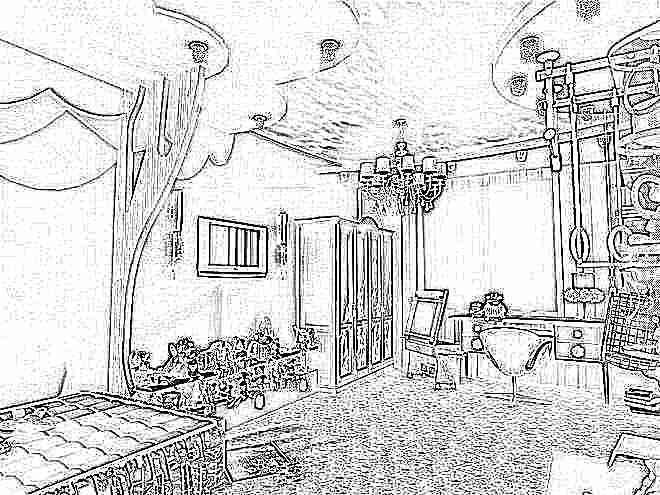 Потолок из гипсокартона в детской комнате (116 фото подвесной) 30