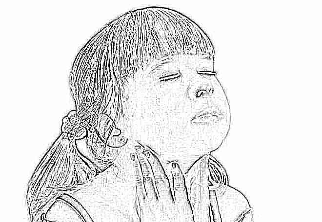 Как вылечить горло ребенку 4 года комаровский